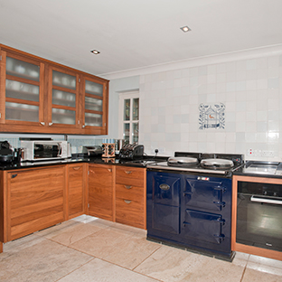 Well–appointed kitchen