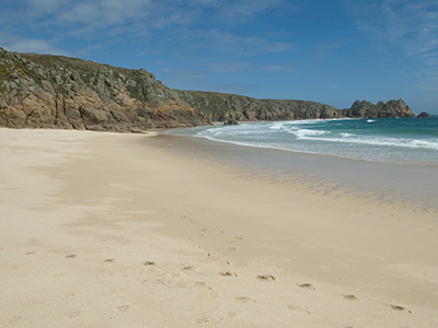 Porthcurno from the Minack Theatre